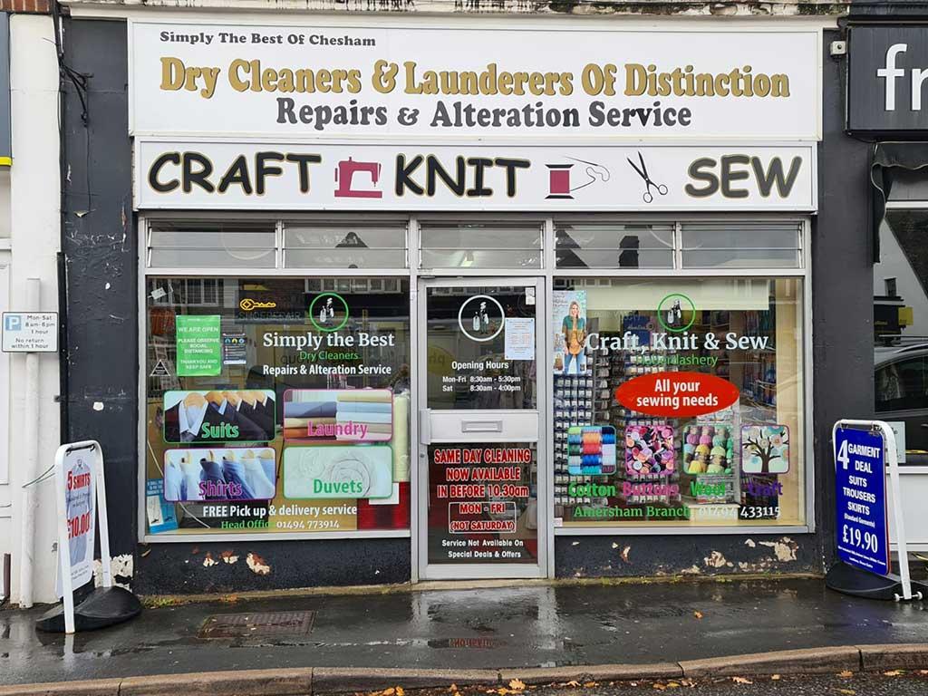 Local haberdashery shops
